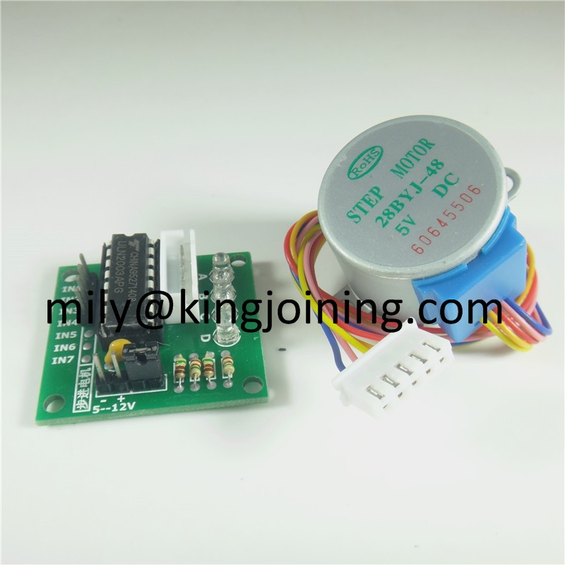 China manufacturer KJ114 5V 4-Phase Stepper Motor 28BYJ-48 + ULN2003 Driver Module