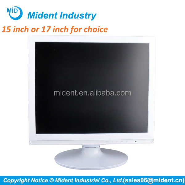 15/17 Inch Dental Chair LCD Monitor for Dental Camera, Intraoral Camera LCD Monitor