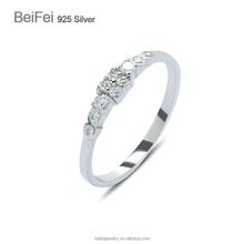 Fine wedding rings designer 925 cz anillos plata de china zodiac rings