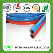 High pressure twin line welding hose