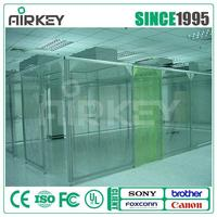 sz Airkey Clean Room Booth Modular Cleanroom for Microelectronics Industry
