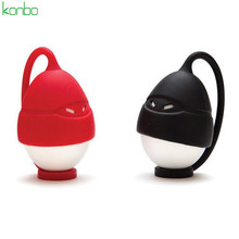 Masked man shape egg boiler steamer egg poacher silicone