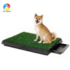 deluxe Indoor Dog Grass Restroom Pet potty , 3-Piece Potty Training puppy toiel with Tray and Loo Pad