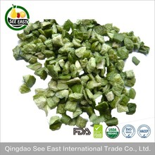 2017 FD vegetables freeze dried green bell peppers for instant soup