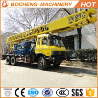 Super quality unique construct equipment Truck Mounted Water Well Drilling Rig
