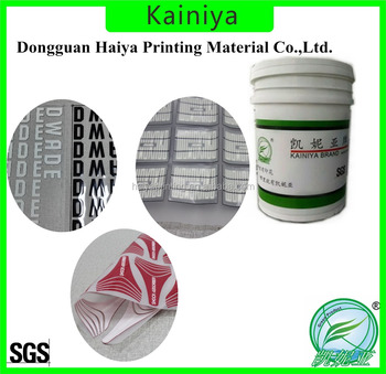 Water based high density ink for heat transfer