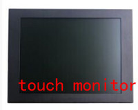 12 inch touch screen monitor flush mounted resistive touch screen