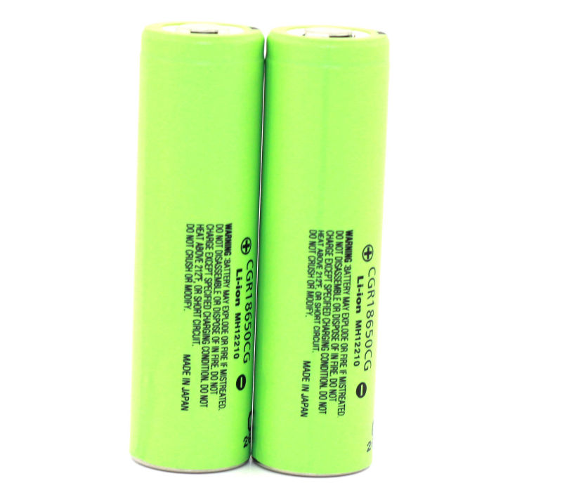 panasonic CGR 3.6V 18650CG 2250MAH Cylindrical rechargeable battery