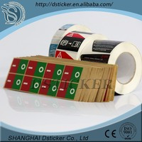 hot sale 2015 china roll peel off labels
