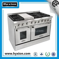 "CSA certification 48"" gas range / commercial cooking range /Support us warehouse"