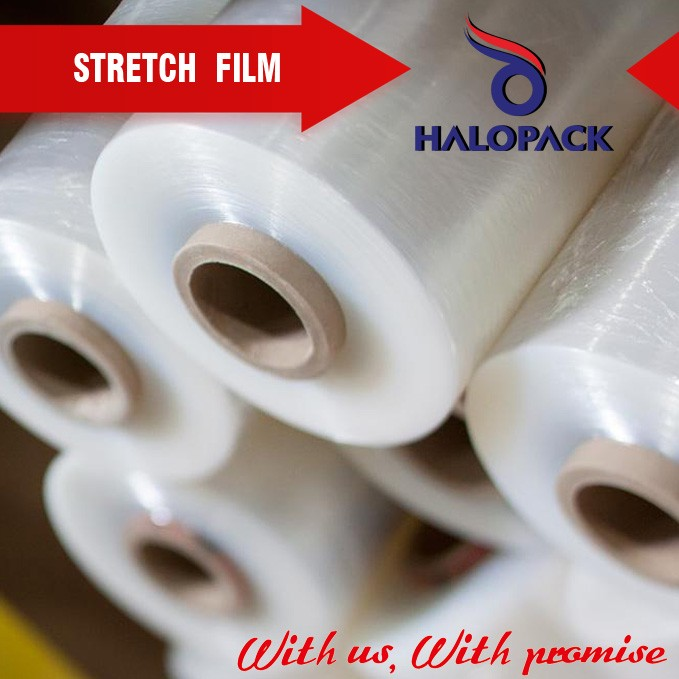 LLDPE Pallet Stretch Film high tensile wrap film