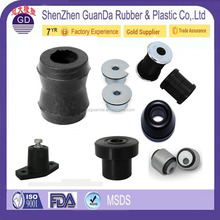 Customized high quality engine mount silicone rubber metal sleeve bushing