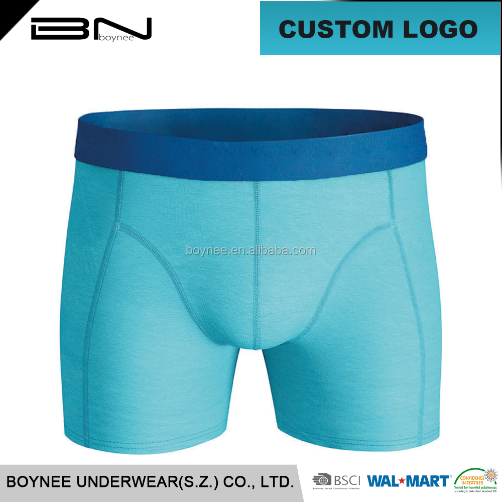 Low min man underwear factory custom make logo