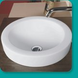 sanitary ware items in ceramic: wash basin , bowl, toilet , indian pan , counter basin etc.