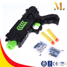 Plastic water toy guns with paintball bullet for kids Gun toy soft crystal summer toys for children
