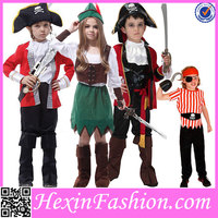 Wholesale Hexin Fashion Lovely Kids Pirate Costume