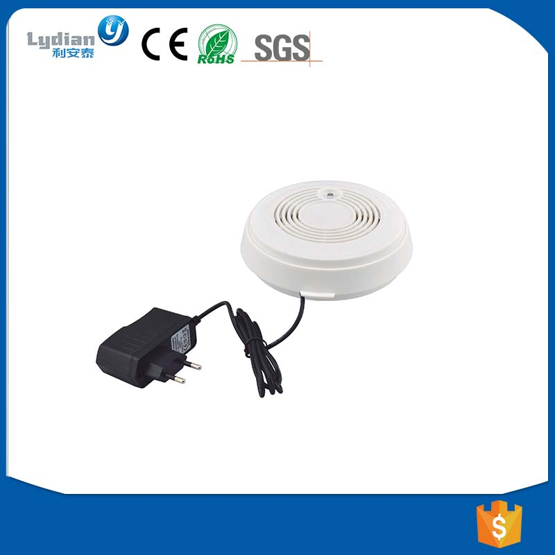 GSM SMS 220V cigarette photoelectric smoke alarm detector factory price with CE approval LYD-612GS