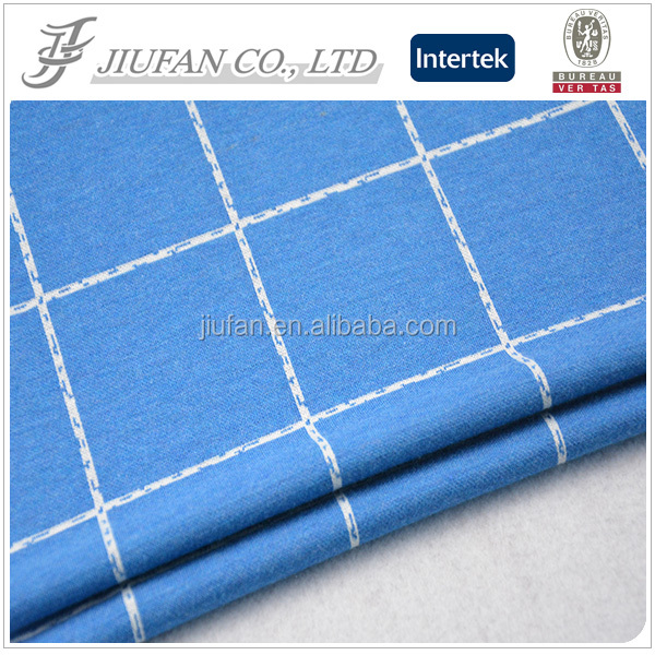 Jiufan Textile 100% polyester jacquard fabric suiting materials fabric