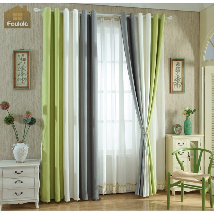 Wholesale blackout curtains discount drapery fabric sun block curtain fabric