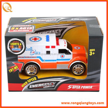 newest friction truck toy cheap ambulance toy car FC8282390265