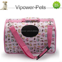 Pet Products - Folding Portable Dog Carrier Cartoon Pet Carrier Bag Free Shipping