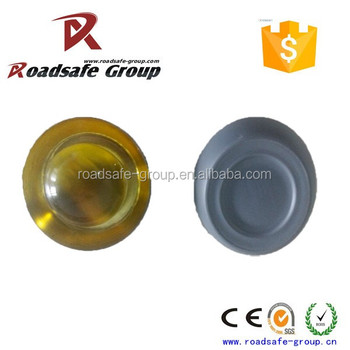 Safety product 100mm glass reflector cat eye tempered glass road studs