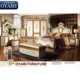 Sex solid wood new model french bed room bedroom furniture set