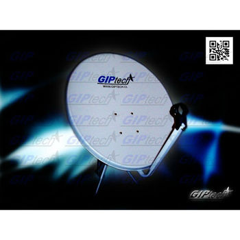 Antena parabolica satelital 65cms al mejor precio del - Precio antena parabolica ...