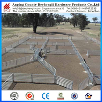 Australia /New Zealand Oval 6 rails sheep yards