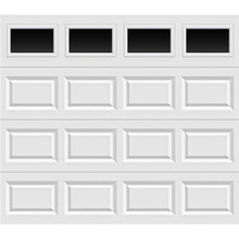 Electric PU Panel Overhead Garage Door With Factory Prices
