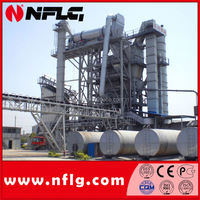 High efficiency stationary asphalt concrete mixing plant is on hot sale