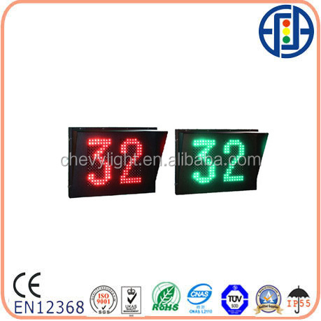 800*600 Bi-color Two-digit Dot-matrix Countdowm Timer with Nine Outputs