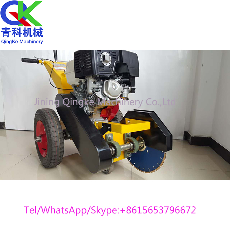 Pavement repair equipment Road stitch cleaning machine Low price sale