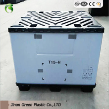 Green moving transport 12mm plastic pp correx/corrugated/coroplast board turnover box