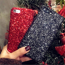 New Fashion Bling Sparkly Mobile Phone Case for Apple iPhone X 8 7 6 6S Plus 5 5S 6/6plus OPPO R9S/R11/R11pLus Cover
