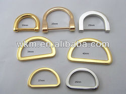 Metal Wire D Ring Buckle