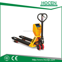 hydraulic hand scale pallet jack