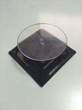 solar power pocket rotary display turntable