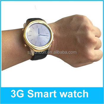 2015 Factory wholesale android smart watch android 4.4 smart watch / support SIM card