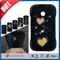 C&T Unique style soft flexible gel strong tpu case for motorola moto e