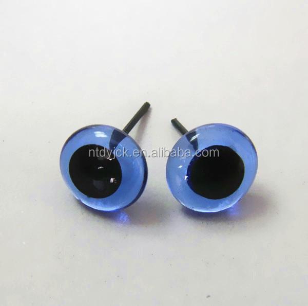 3-24mm fish eyes craft animal glass eyes for stuffed toys