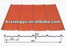 high quality painted metal roofing boarding
