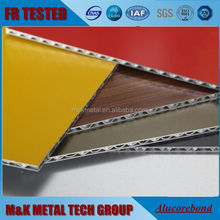 Alucobond A2 FR fire rated aluminum composite panels/ACP/ACM/ACCP