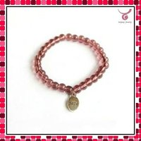 Wholesale stretch glass bead bracelets from china direct factory