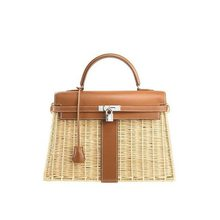 2019 Shenglu women personality elegant handmade RATTAN <strong>TOTES</strong> WITH LOCK (XJHB0627)