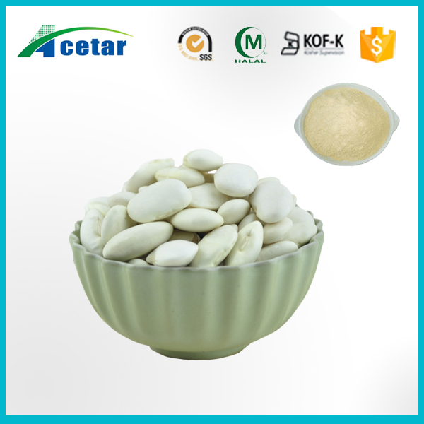 Natural white kidney beans extract high quality phaseolamin extract for sale