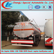 FAW handrail waste oil truck,bulk oil trucks,fuel dispensing trucks