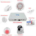 home automation kit, elderly alarm system with 8 devices total