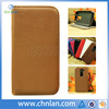 2014 New products Lychee pattern wallet leather phone case for LG G2 MINI with stand and soft tpu gel inside