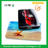 Custom credit card usb memory stick power bank 2200mah 8gb 4gb 2gb